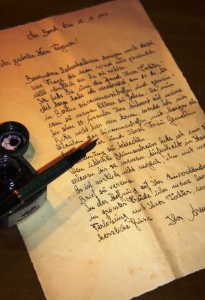Brief meines Vaters
