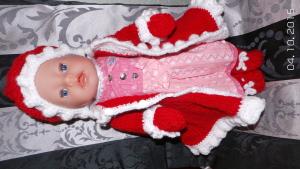 Baby Born Girl Weihnachten