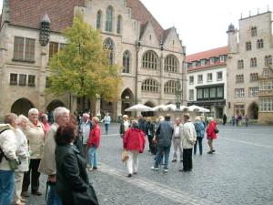der Hildesheimer Marktplatz