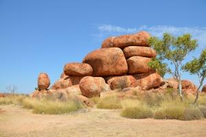 Devils Marbels in Australien