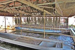 Fischers Arbeitplatz