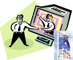 PC Einkauf Clipart