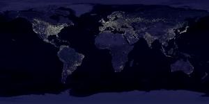Lichter über der Welt