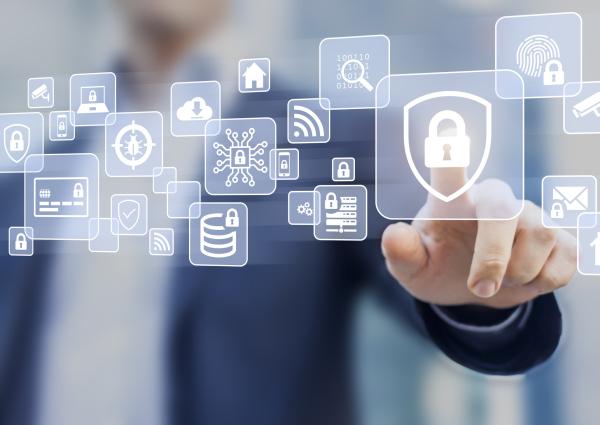 Symbole für Internet-Sicherheit
