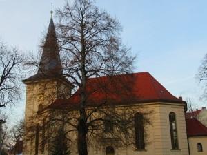 Ev. Friedrichskirche in Babelsberg Stadtteil von Potsdam