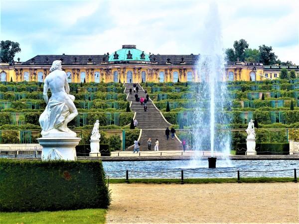 Schloss Sanssouci.