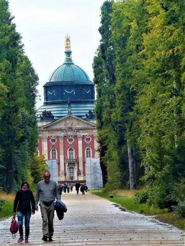 Blick zum Neuen Palais.