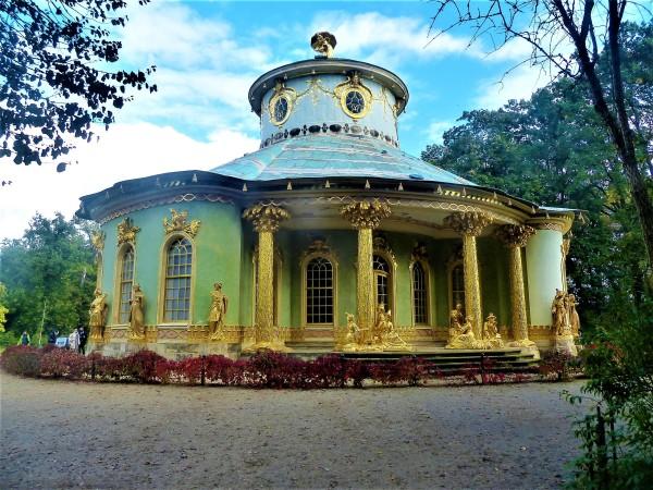 Der chinesische Tempel.