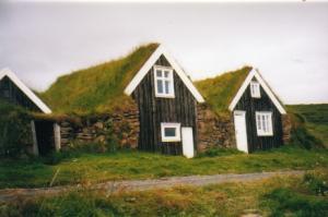 Haus auf Island