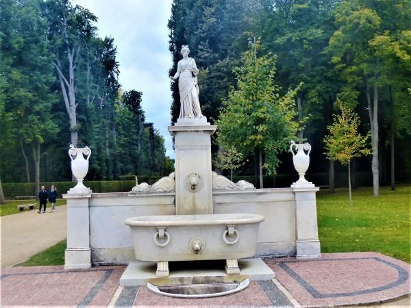 Die Badewanne im Park.