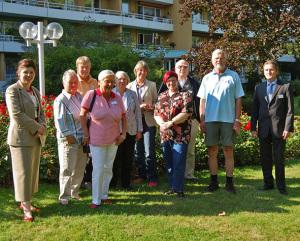 Feierabend-Scouts in der Seniorenwohnanlage Rosen