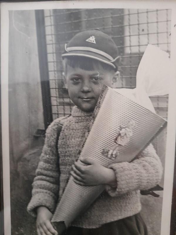 Erster Schultag 1956 Brühl-Heide