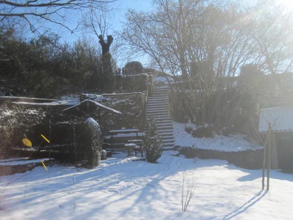 Nochmals ein schöner Wintertag mit Sonne..