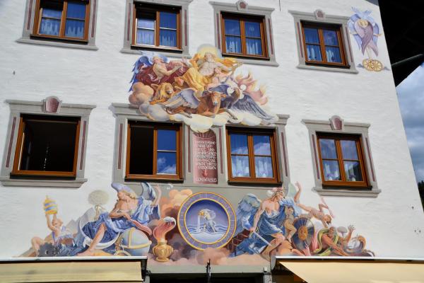 Partenkirchen Lueftlmalerei