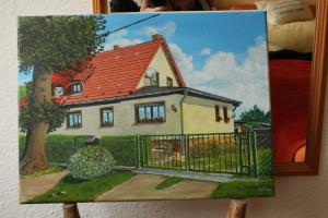 Für eine Handwerker gemalt