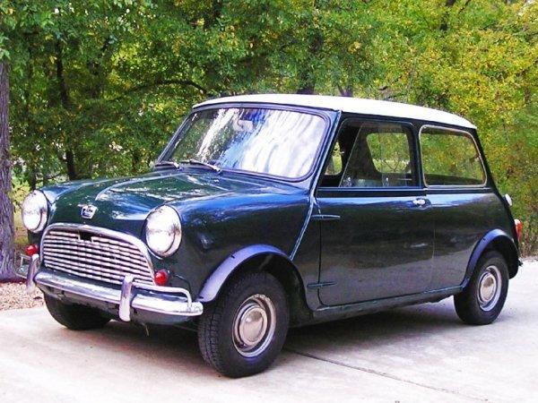 Mini Baujahr 1963