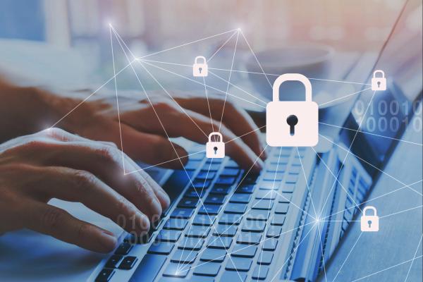 Tastatur mit virtuellem Sicherheitsschloss