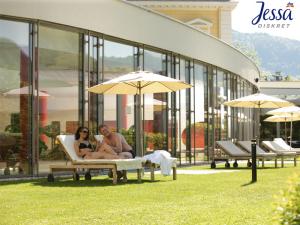 Außenbereich im Vital Resort in Bad Ischl