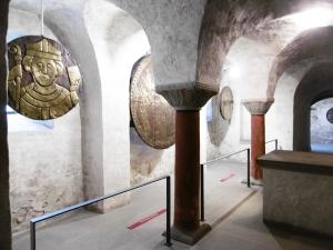 Berühmte Konstanzer Goldscheiben (Datierung und Funktion nicht überliefert)