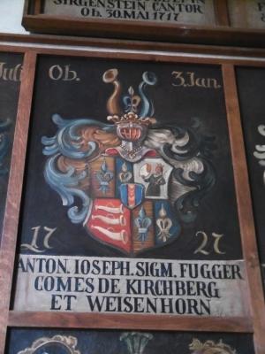 Wappen eines Domherrs