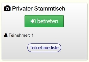 Privater Videochat