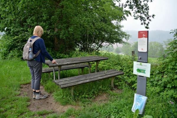 ... Stoeckers Plaetzchen auf dem Schlichberg (289 m)