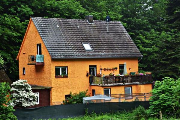 Ehemaliges Rohmateriallager, heute Wohnhaus.