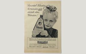Sanostolwerbung von 1957