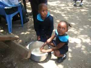 Hilfe für Kenia