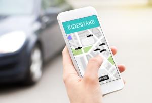 Nutzung einer Carsharing-App