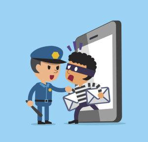 Internet-Dieb wird von Polizei gefasst