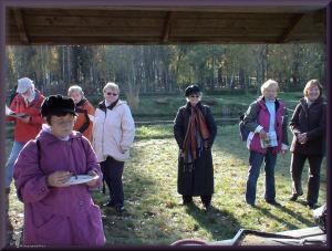 Wildpark Johannesmühle - Ausflug vom 31.10.2007