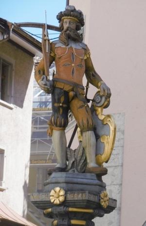 Symbol für den freiheitsbewussten Schweizer