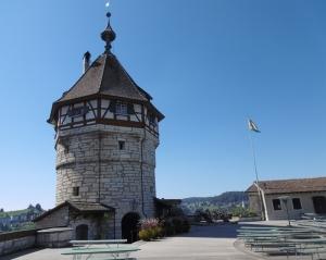 Munot wurde ab 1564 erbaut