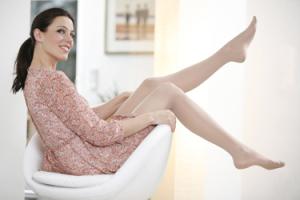 Frau im Sessel, foto varilind
