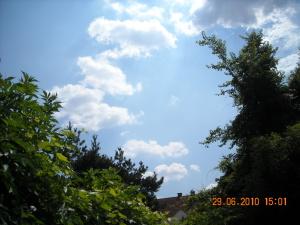 Wolken und Sonnenuntergänge