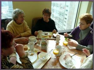 Frauenfrühstück am 9. März 2010
