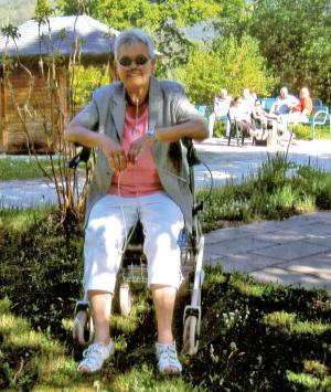 Irmgard Gaus in Schönau, Berchtesgarden