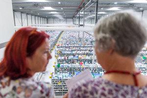 Lagerraum der Europa Apotheek