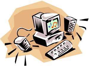 Multimedia pc clipart