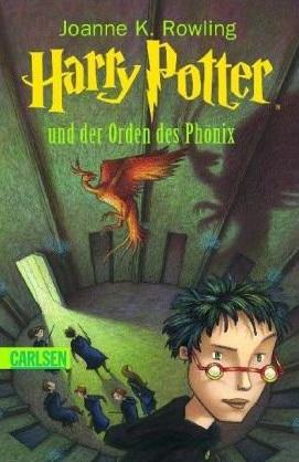 Buchcover von Harry Potter und der Orden des Phönix