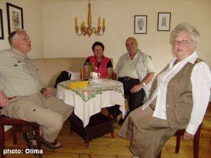 Kaffeetrinken in Wahmbeck - 2009_06_20_003