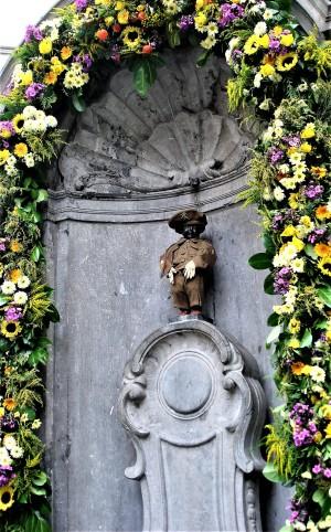 Männeken Pis in Brüssel