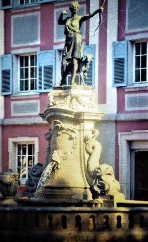 Dianabrunnen in Donaueschingen.