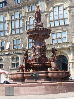 Brunnen in Wuppertal Elberfeld.