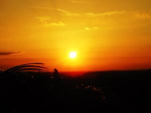 Sonnenglühen