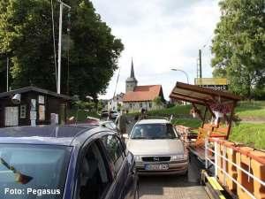 Blick zurück von der Fähre auf die Kirche - Pegasus_146