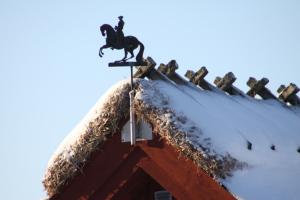 Gotland im Winter gut behütet