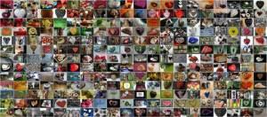 Seit vielen Jahren sammle ich schon Fotos von Herzen - eine kleine Auswahl gibt es in dieser Collage