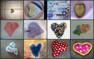 Eine absolute Herzsache aber ist für mich diese Sammlung von Herz-Bildern, die meine Großnichte und meine Großneffen aus Berlin für mich gemacht und geschickt haben.